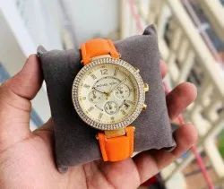 Women Round Michael Kors Watch, For Daily