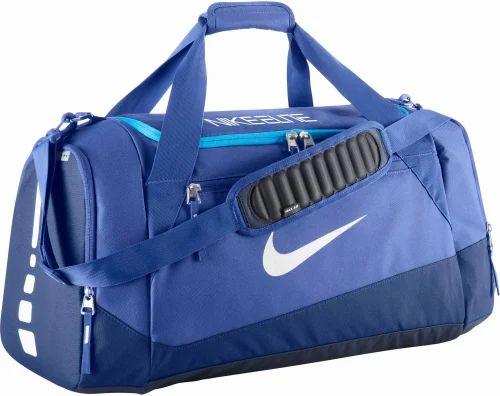 Blue  White Nike Elite Duffel Bag 50d08db220e0e