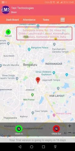 Employee Live Location Tracking Android Application In Koramangala 5th Block Bengaluru Zingo Hotels Id 20545012162 Our app accurately pinpoints your current location on a map. employee live location tracking android