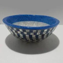 Blue Ceramic Wash Basin