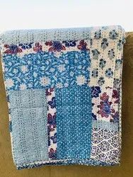 Block Print Mix Patch Kantha Bed Covers