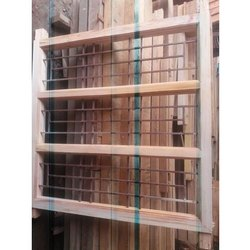 Solid Wood Window, Rectangular