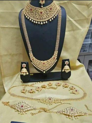 c01edaa24ab36 Czn912 Cz Full Bridal Necklace Set