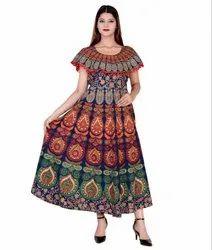 Indian Mandala Ladies Frock