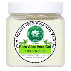 SkyMorn Pure Organic 100% Pure Aloe Vera Gel