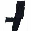 Cotton Straight Fit Ladies Black Legging