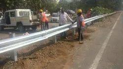 Steel Highway Guard Rails