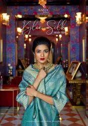 Zardozi Work Party Wear Rajtex Kylie Silk Saree, 6 m (With Blouse Piece)