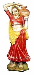Fiber Lady Statues