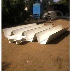 FRP Industrial Roof Rain Water Gutter