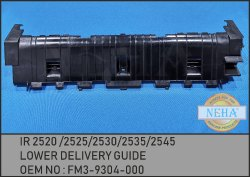 IR 2520 / 2525 / 2530 / 2535 / 2545 Lower Delivery Guide  FM3-9304-000