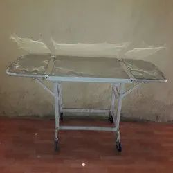 Double Fold Stretcher Trolley S.S Top