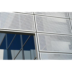 Perforated Mesh Panel