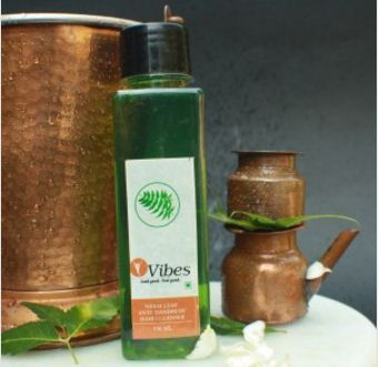 Neem Leaf Anti Dandruff Head Massage Oil