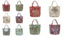 Sequins Embroidered Messenger Shoulder Bag Handbag