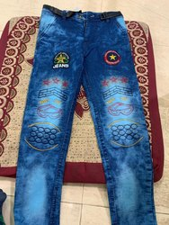 Boys Blue Fashion Denim Jeans