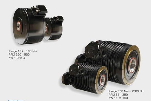Direct Drive Servo Motor Hollow Shaft Type