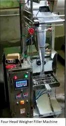 Four Head Weigher Filler Machine