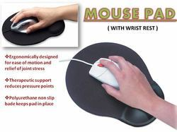 Mouse Pad With Wrist Pad