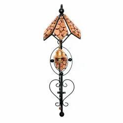AK International Antique Wooden Door Bell, for Home