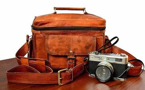 3489ab51cb Brown ZNT 13 Inch Men Executive Leather Messenger Bag