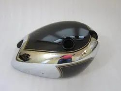 New Matchless  Chrome And Black Painted Steel Petrol Tank