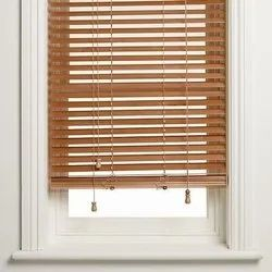 PVC Brown Venetian Window Blinds