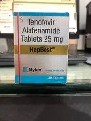 HepBest (Tenofovir Alafenamide) Tablet 25 mg