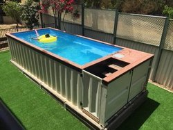 Readymade Swimming Pool In Container Plug Play For Hotels Resorts Rs 920000 Number Id 12782095755