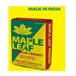 PPC Maple Leaf Premium Cement, Packaging Size: 50 kg