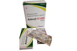Cefuroxime Axetil 500mg Clavulanate 125mg
