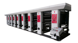 8 Color MS Rotogravure Printing Machine