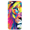 Multicolor Soft Tpu Lion Printed Mobile Back Cover, Packaging Type: Box