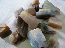 Grey Moonstone Raw Rough Stone