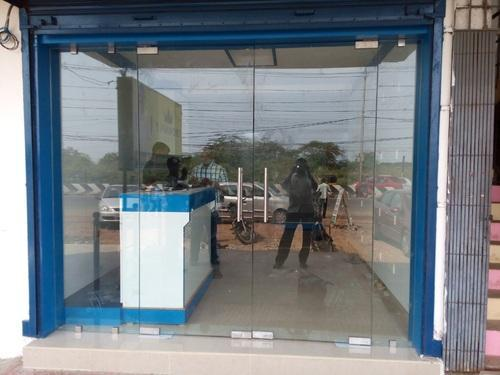 Transparent Frame Less Shop Front Glass Doors & Transparent Frame Less Shop Front Glass Doors | ID: 14585805830