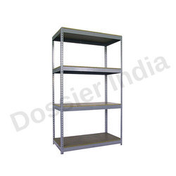 Dossier Slotted Angle Racks, Usage: Warehouse, Office, Hospital