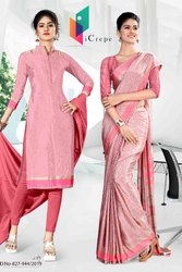 Uniform Sarees and Salwar  Kameez Combo