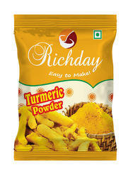 Richday Turmeric Powder, Packaging: Packet, Packaging Size: 50 gm to 500 gm