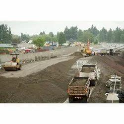 Center Line Concrete Road Construction