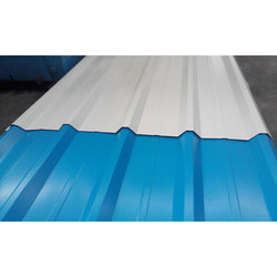 Blue and White Galvalume Roofing Sheet