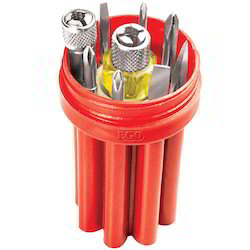 Ego Red Screw Driver Kit (Executive), Packaging Type: Box