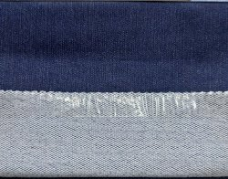 3/1 Dobby Indigo Knitted Fabric, for Suiting, GSM: 450