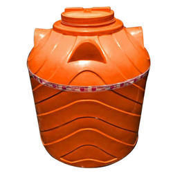 Orange Impact Water Tank