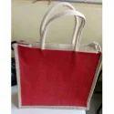 Red Jute Bag