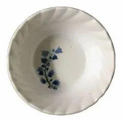 Melamine Printed  Dinner V Bowl