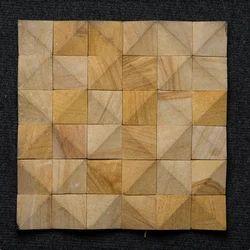 3D Sandstone Tile Mosaic