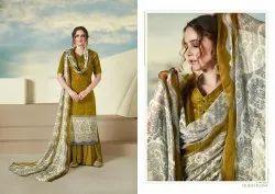 Sargam Print Cotton Salwar Suits