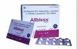 CO-ENZYME Q10 COMBINATION FOR MALE INFERTILITY, 10x1x10, Prescription