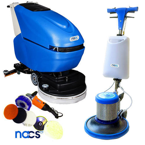 Floor Cleaning Scrubbing Machine NACS India Varanasi ID - How to use a floor scrubber machine