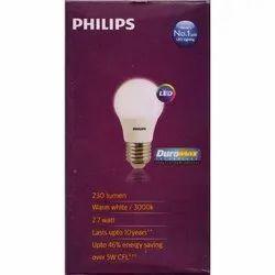 Philips 2.7W B22 Warm White LED Bulb